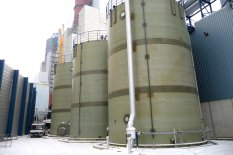 HCl GRP Storage tanks